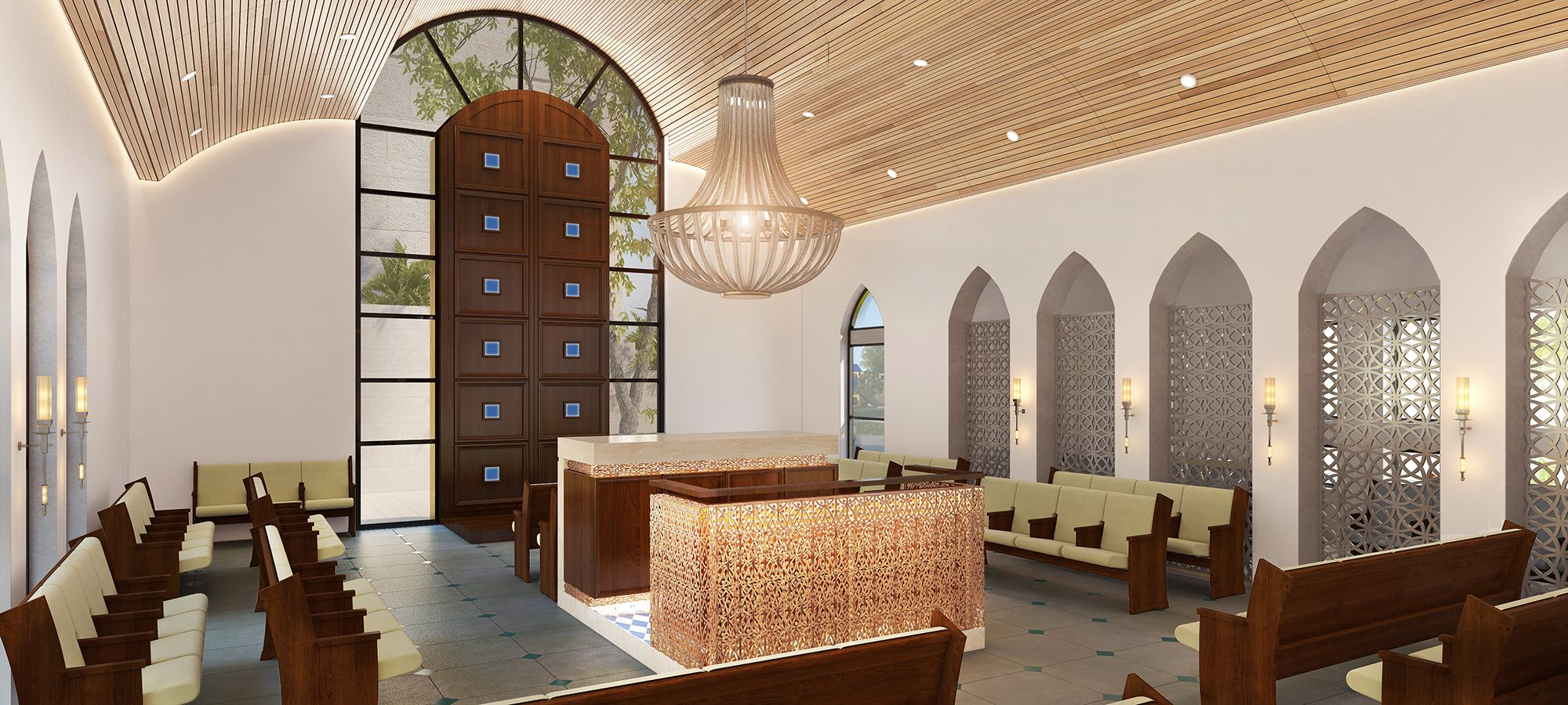 מיסטיקה יהודית עם משרביות בבית הכנסת המרוקאי במודיעין