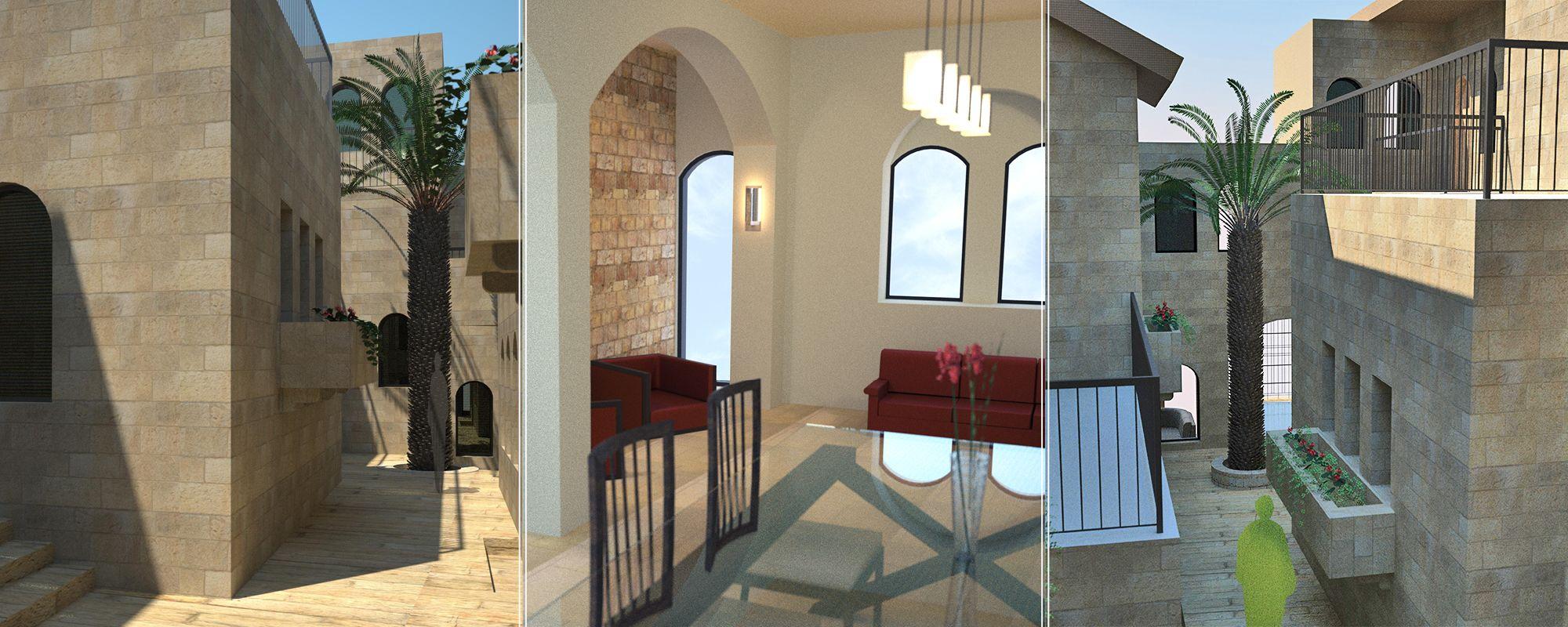 מבתים לשכונות: שכונה לתושבי ניו יורק בירושלים. מסתורין של סימטאות ושימור
